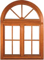 okno drewniane ikona