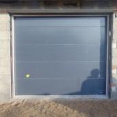 Wiśniowski brama garażowa segmentowa SPG montaż firma EURODOCK
